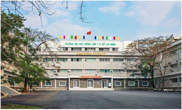 Trường đại học Nông Lâm Tp.HCM.