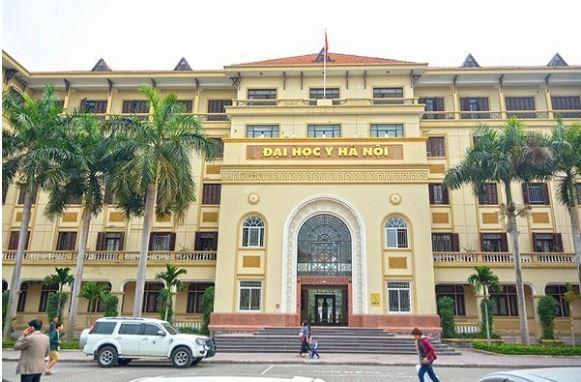 Trường đại học y Hà Nội.