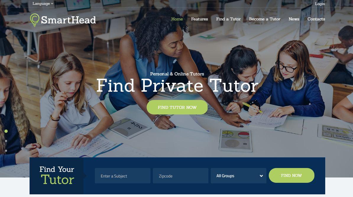 Website trường học SmartHead