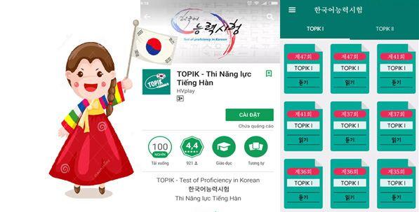Lợi ích của việc sử dụng app học tiếng Hàn