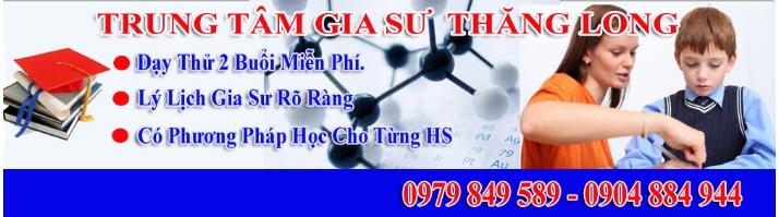 Trung tâm gia sư Thăng Long.