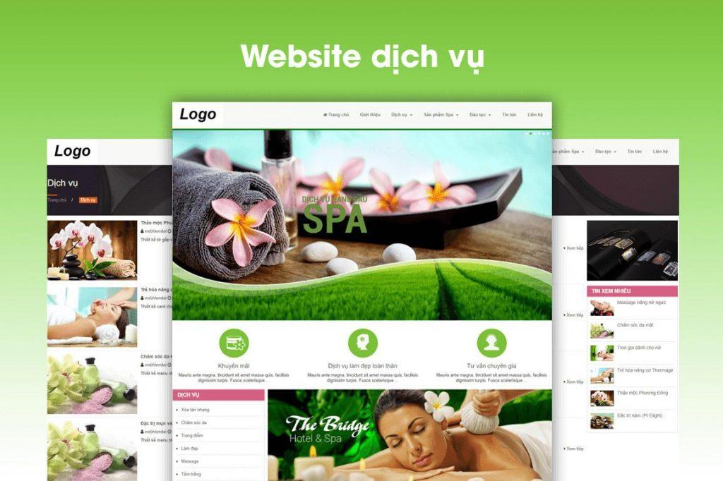 Chức năng của một trang web spa