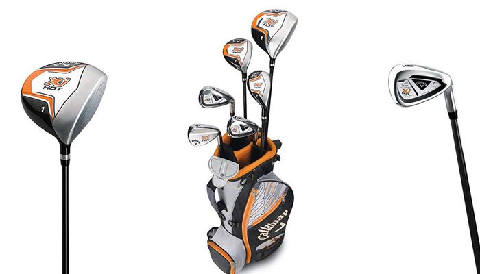 Bộ gậy đánh golf tốt nhất cho học sinh - Callaway X Junior